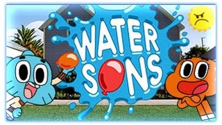 The Amazing World Of Gumball - Gumbal Water Sons [ Full Games ]