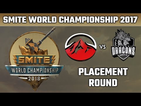 SMITE World Championship 2018: Placement Round - Elevate vs. Black Dragons