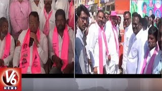 Birkur Village Political Activist Joins TRS In The Presence Of Minister Pocharam Srinivas Reddy