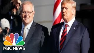 Watch Live: President Donald Trump Holds News Conference With Australian Prime Minister | NBC News