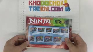 Hướng dẫn lắp ráp Lele 79142 Lego Ninjago 2260 Ice Dragon Attack giá sốc rẻ nhất
