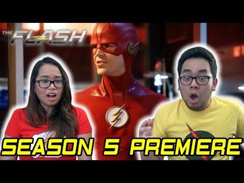 "THE FLASH Season 5 Episode 1 REACTION ""Nora"" Review thumbnail"
