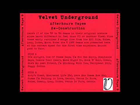 The Velvet Underground  - Guess I'm Falling in Love (unreleased version)