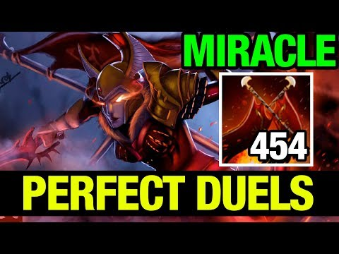 PERFECT DUELS!! - MIRACLE- LEGION COMMANDER - Dota 2