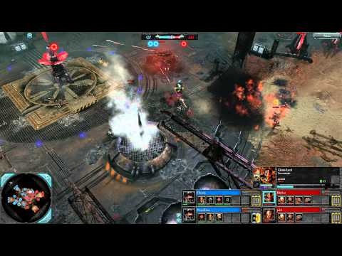 Dawn of War 2: Retribution — 2v2 | Faction Battle — Imperial Guard [vs] Chaos | 1