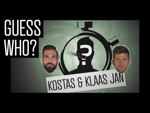 GUESS WHO? #2 - Kostas & Klaas Jan