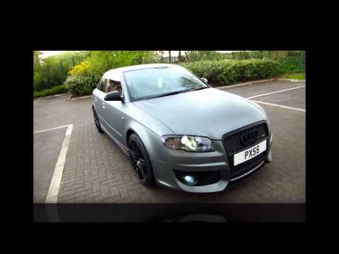 AUDI A4 B7 OETTINGER  MATT MATTE GREY