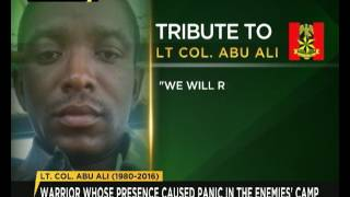John Jacobs' Tribute to Lt. Colonel Abu Ali