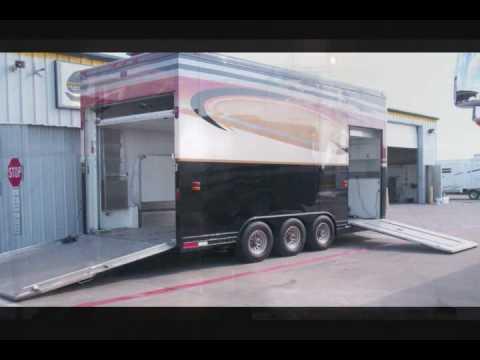 1997 Featherlite Stacker Trailer Walkabout Rv Youtube