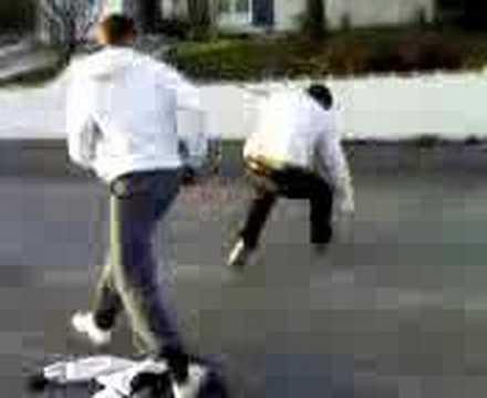 baston de rue (scoot) accident