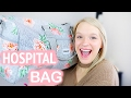 WHATS IN MY HOSPITAL BAG | 38 Weeks Pregnant