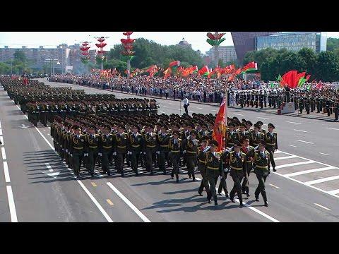 Парад ко Дню Независимости в Минске
