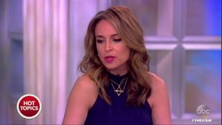 Kardashian Sisters Getting Political? | The View