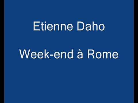 Etienne daho week end rome youtube for Chambre 29 etienne daho