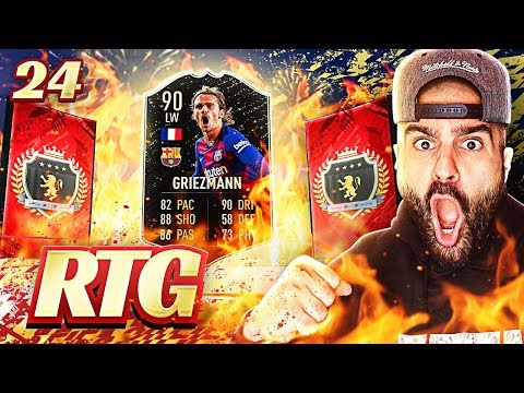 OMG I PACKED GRIEZMANN!! BEST ELITE REWARDS EVER! #FIFA20 Ultimate Team Road To Glory #24