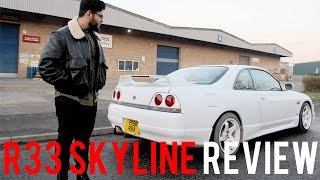 Nissan SKYLINE R33 Spec 2 Review