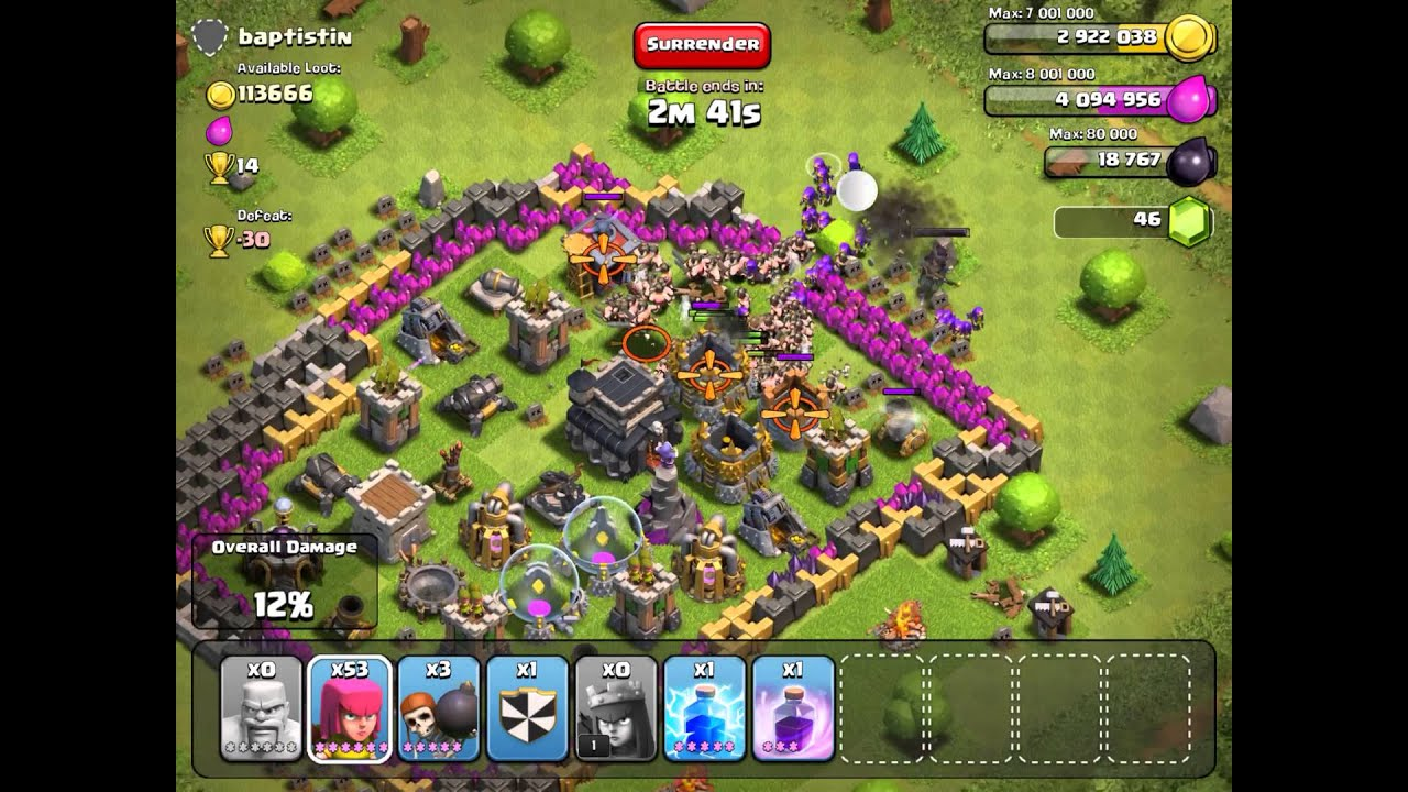 Clash of clans funny village lol youtube