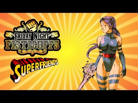 Friday Night Fisticuffs - X-Men CotA / Marvel Super Heroes