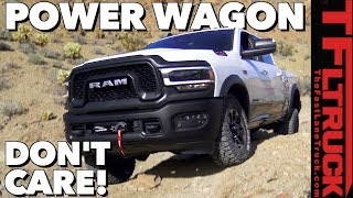 It's a Great Day To Really Off-Road the New 2019 Ram Power Wagon!