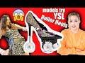 Models Try YSL Roller Heels (DIY) *DISASTER*
