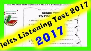 ielts listening practice test 2017with answers