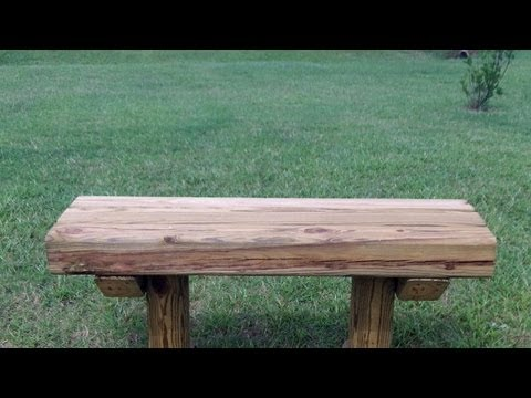How To Build A Bench Seat Out Of Wood