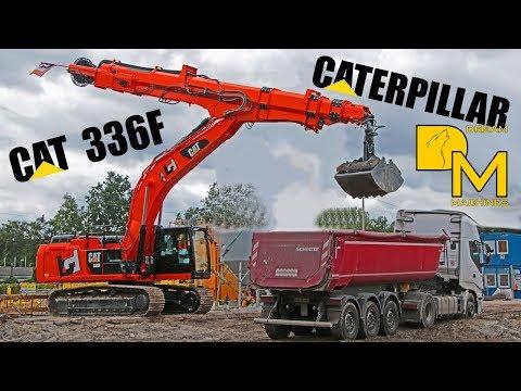 CATERPILLAR 336F *PREMIERE* TELESKOP BAGGER IN ACTION