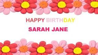Sarah Jane   Birthday Postcards & Postales