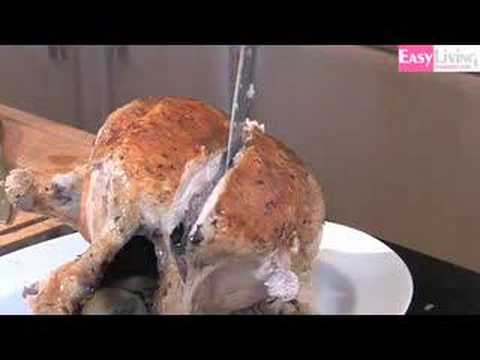 How To Carve A Turkey or Chicken