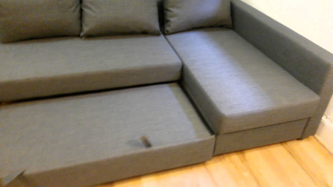 Ikea Friheten Sofa Bed Assembly Service In Dc Md Va By Furniture Assembly Experts Llc Youtube