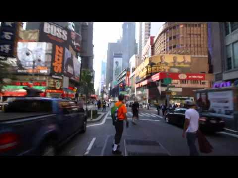 Broadway Bomb 2011 -  Geneva Longboarding