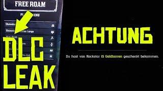 RED DEAD ONLINE DLC LEAK!!! - Geldbonus in Red Dead Redemption 2 & mehr // Deutsch