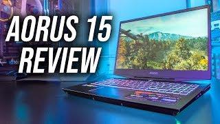 Aorus 15 Gaming Laptop Review - RTX 2060