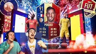 BEST OF 1000€ FULL TOTY PACK OPENING + FUT Champions Rewards 🔥🔥🔥