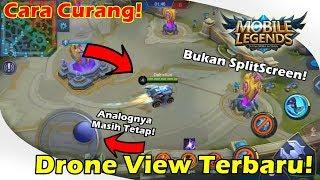 Tutorial Script Drone View Terbaru Mobile Legends Tanpa Root? BUKAN SPLITSCREEN!