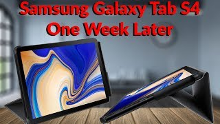 Samsung Galaxy Tab S4 One Week Later - What A Difference A Case Can Make - YouTube Tech Guy