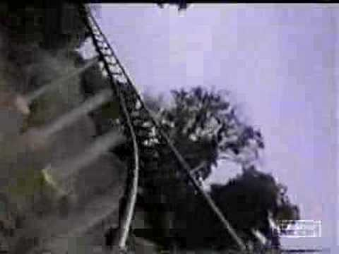 Steel Phantom Roller Coaster Front Seat Point of View Camera