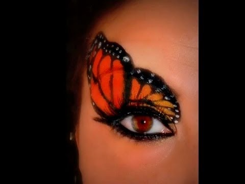 Monarch Butterfly Make Up - The Tutorial