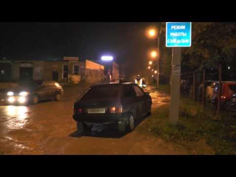 Пьяный водитель на восьмерке, ул. Комсомольская. Место происшествия 29.09.2016