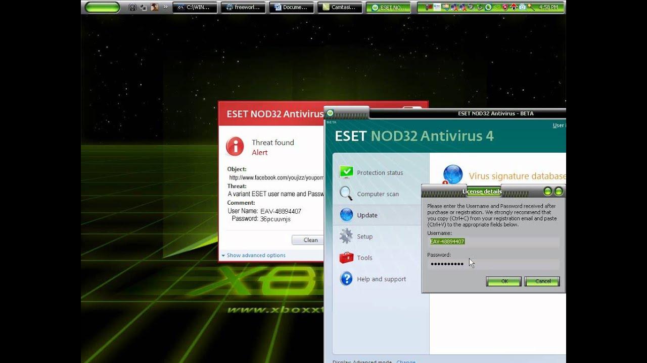 кряк для eset nod32 antivirus