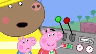 Peppa Pig Full Episodes - Digger World - Cartoons for Children