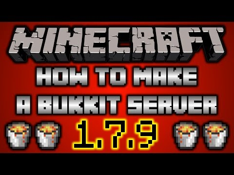How to Make a 1.7.9 Bukkit Server!!!!!! [FAST + EASY!]