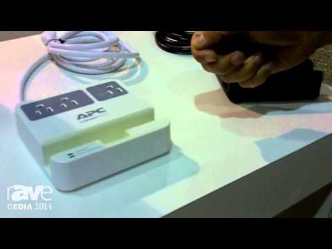CEDIA 2014: APC Introduces Charging Tablet and Cellphone Stands