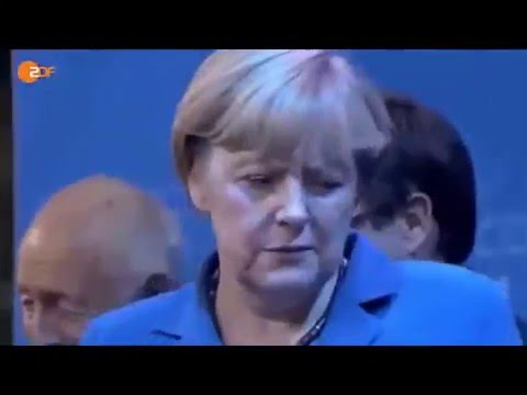 Merkel doesn't like the German flag