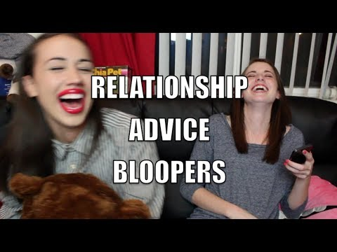 BLOOPERS from Relationship Advice with Miranda Sings