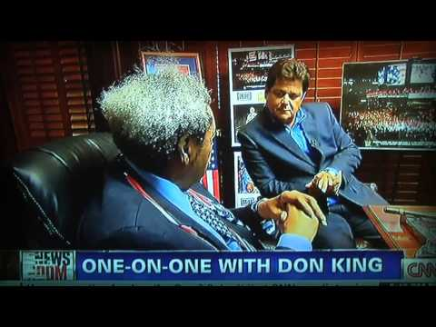 Don King Interviewed by CNN's John Zarrella on 7/15/12