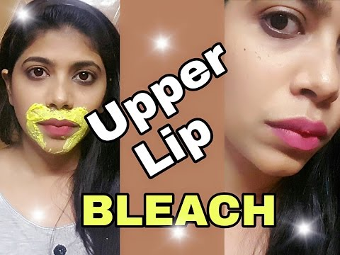❤ DIY Upper Lip Bleach At Home ❤