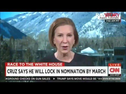 Carly Fiorina slams Lyin' Ted Cruz