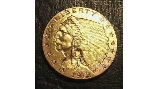 The History of the Indian Head Quarter Eagle Gold Coin.
