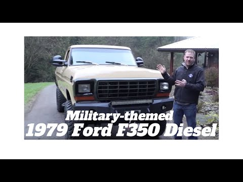 1979 Ford F350 Power Stroke Turbo Diesel Finale